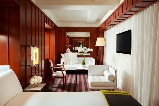 Hudson Hotel New York Deluxe Studio Bedroom One Suite