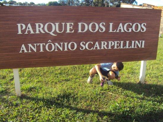 Sao Joaquim da Barra, SP: passeio do meu filho no parque