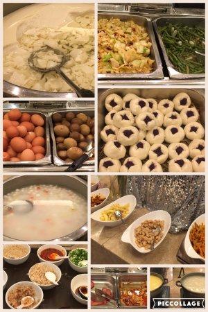 Shuang Men Lou Hotel: desayuno sólo apto para chinos