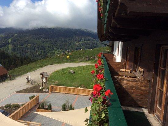 Muhlbach am Hochkonig, Austria: view from our balcony