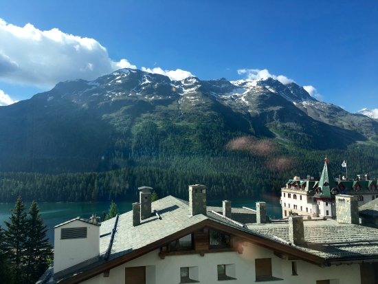 Hotel Languard: View from breakfast area.