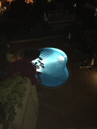San Agustin, Spanien: Pool at night