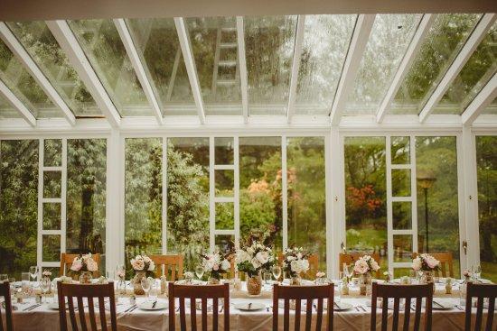 Gartocharn, UK: Dining room/conservatory