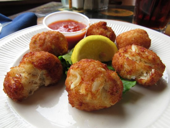 Smithfield, VA: Deep Fried Crab Balls Appetizer