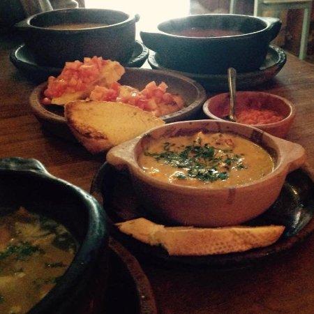 Arbol de Montalvo Restaurant: lunch!