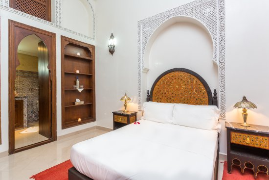 Riad Al Jana: chambre jaune