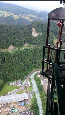 Schonberg im Stubaital, Austria: Absprungplattform 2
