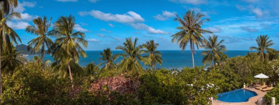 The Rocks Villas: View from our Sunset Villa