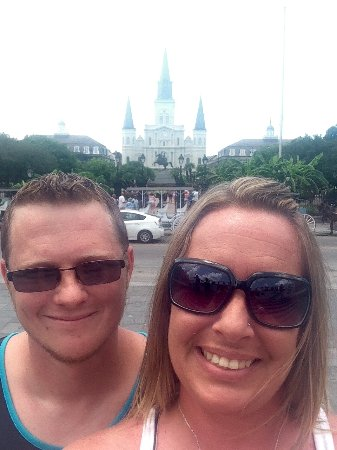 St. Louis Cathedral: Us! 💗
