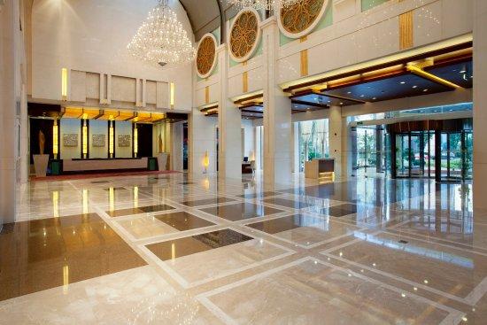 Changshu, China: Hotel Lobby