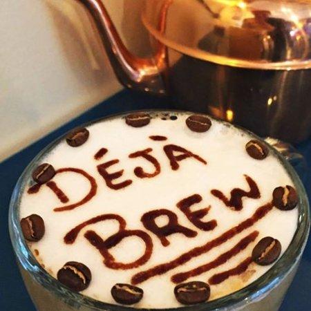 Deja Brew family friendly cafe