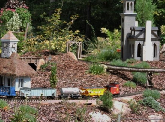 Train Set Picture Of Atlanta Botanical Garden Gainesville Tripadvisor