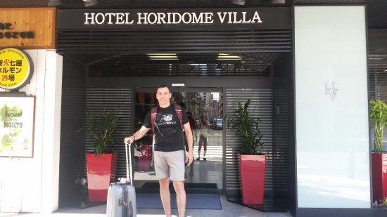 Entrada Do Hotel Picture Of Tokyo Hotel Horidome Villa Chuo
