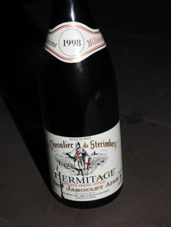 Saanen, Suiza: Hermitage 1998 millesime Paul Jaboulet Aine