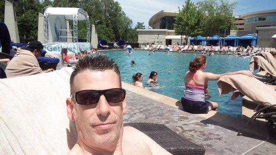 The Fox Tower at Foxwoods: Outdoor Pool Playground