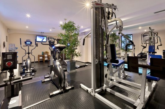 Fleming's Hotel Munich City: Fitness Area at Fleming's Hotel Muenchen-City