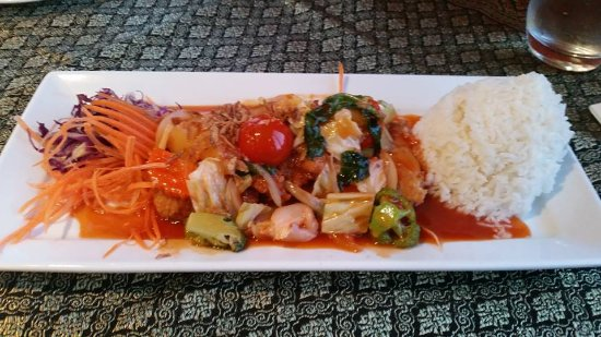Kerikeri, New Zealand: Sweet & Sour Golden Chicken