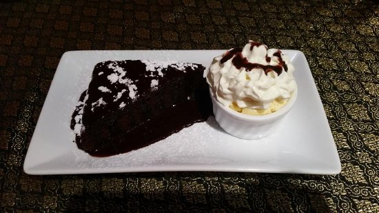 Kerikeri, New Zealand: Chocolate brownie