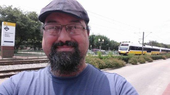 Historic Downtown Plano: The Dart Train.