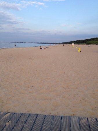Prawdzic Resort & Conference: Wonderful beach
