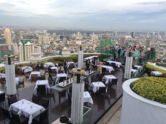 lebua at State Tower: View of Sky Bar