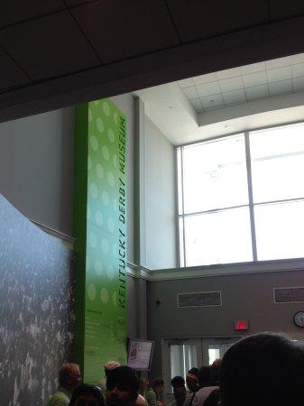 Kentucky Derby Museum: Entrance