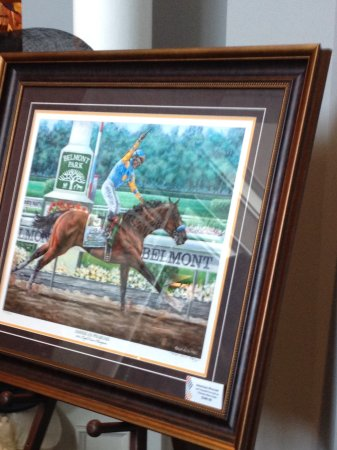 Kentucky Derby Museum: Museum painting