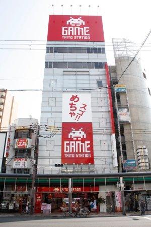 大阪日本桥Taito游戏中心