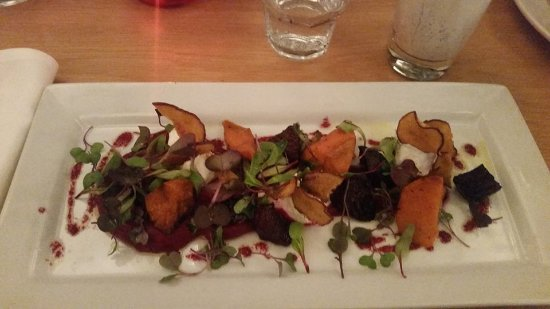 Kerikeri, Nowa Zelandia: Beetroot and Kumara salad