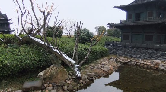 Yueyang, Cina: Ornamental Pond