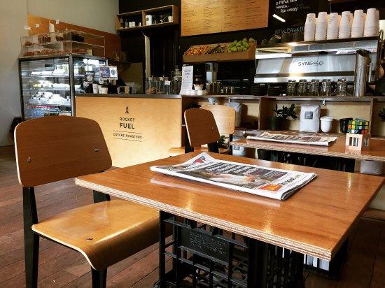 Nedlands, Australia: Rocketfuel Coffee Roaster, as of 1/7/16.
