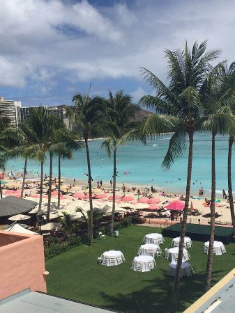 The Royal Hawaiian, a Luxury Collection Resort: View from our Ocean Front Room