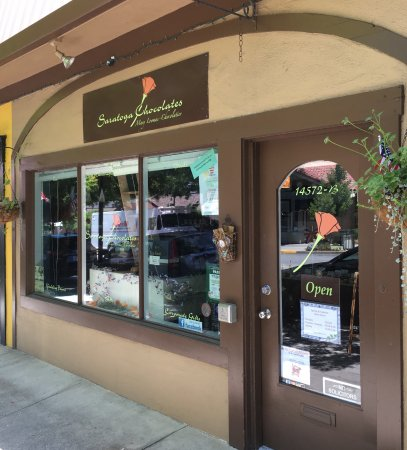 Saratoga Chocolates on Big Basin Way, Saratoga