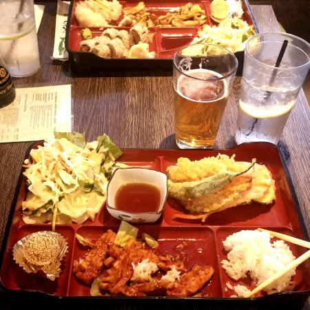 Dozo Izakaya : Bento Box and Beer...What More Could You Possibly Need?