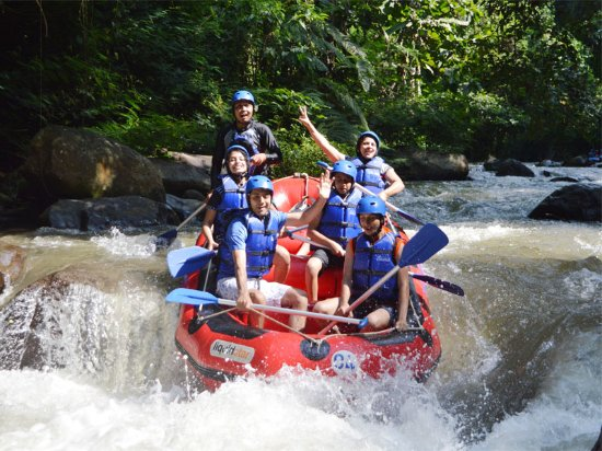 Rubber Dingy Rapids Ayung Dewata Rafting Ubud Traveller Reviews Tripadvisor