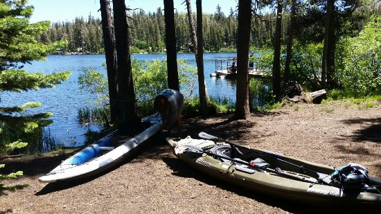 Twin Lakes Campground: See my review.