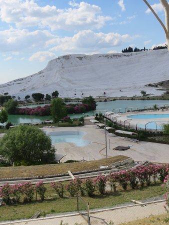 Mehmet's Heaven: view of the travertines