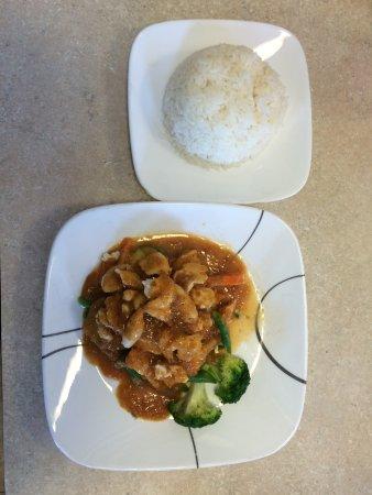 Thai Orchid: Chicken Pra Ram Long Song