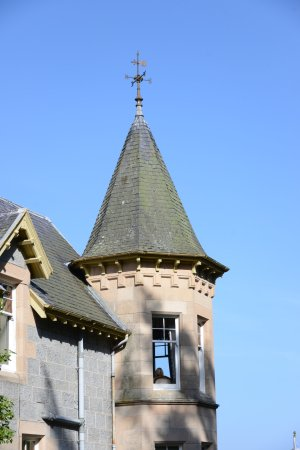 Tigh na Sgiath Country House Hotel: Cupola of the Ballindalloch Room.