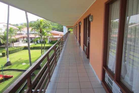 BEST WESTERN Jaco Beach All Inclusive Resort: Third floor looks over Pool, Play ground area
