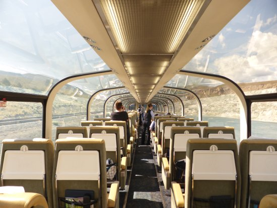 Gold leaf Cabin - Picture of The Rocky Mountaineer