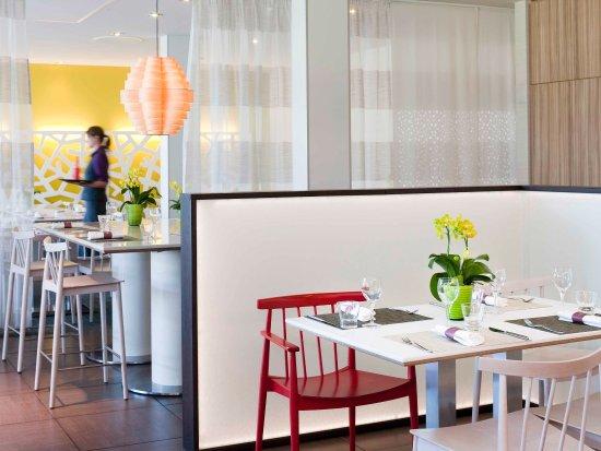Novotel Lausanne Bussigny: Restaurant