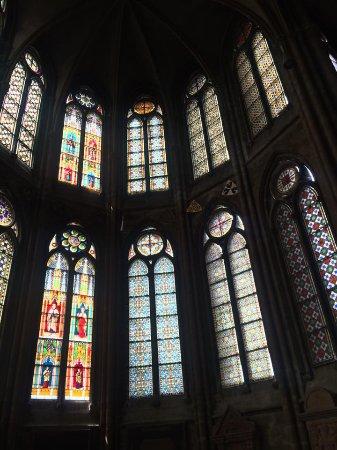 Elisabethkirche: Beautiful Stained Glass