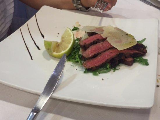 Aquattro Restaurant : Ottima Tagliata....