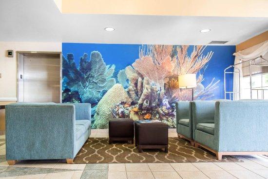 Comfort Suites Seven Mile Beach: Lobby