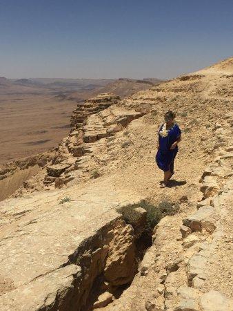 ميتزبي رامون, إسرائيل: Многослойные и разноцветные пески кратера Рамон !