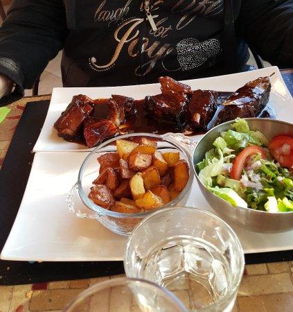 Chez Eva : Travers de porc