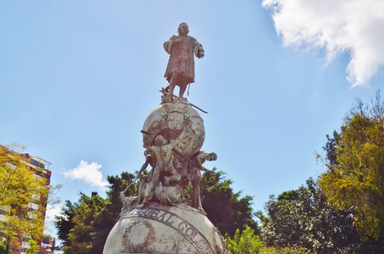 Monumento a Cristobal Colon de Thomas Mur