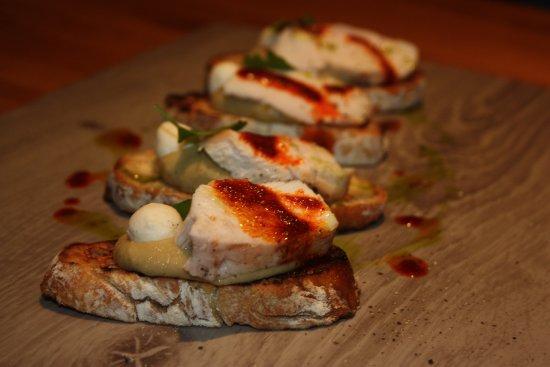 No6 Restaurant : Bruschetta_chicken