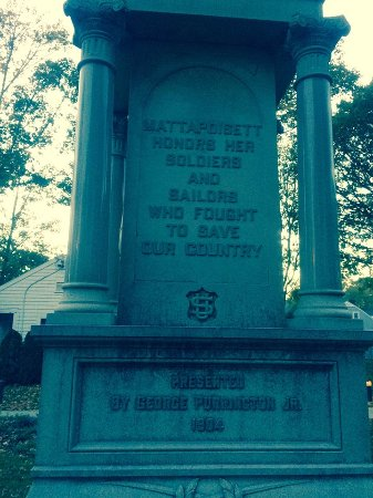"""Mattapoisett Honors Her Soldiers And Sailors Who Fought To Save Our Country""."